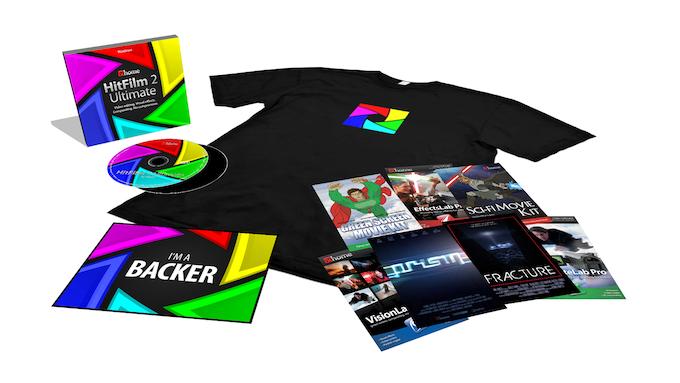 The Box: Mac & PC software, tutorials DVD, t-shirt, mousepad and postcard set.