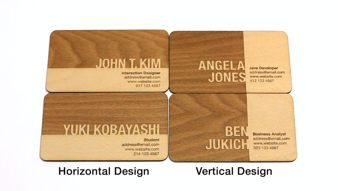 Engraved by john taikhyung kim kickstarter the cards are very lightweight and are a convenient size they can fit in your wallet card holder or wherever you wish to keep them colourmoves