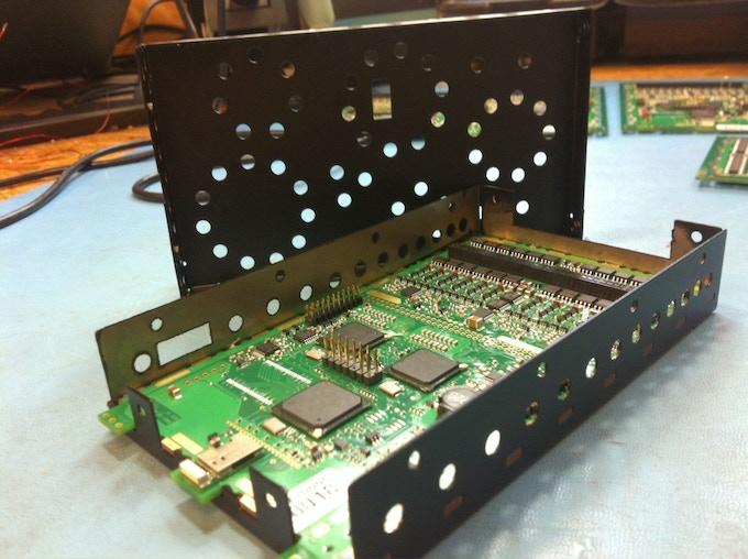 The Core-96 Vibration Controller. Photo courtesy of Eric Church.