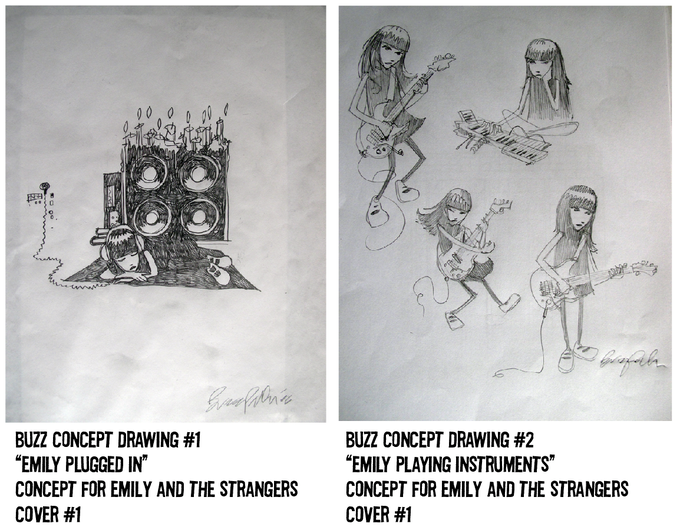 $250 REWARD, CONCEPT DRAWING #1, $250 REWARD, CONCEPT DRAWING #2. IDEAS STRAIGHT FROM THE MIND OF BUZZ PARKER TO PAPER!