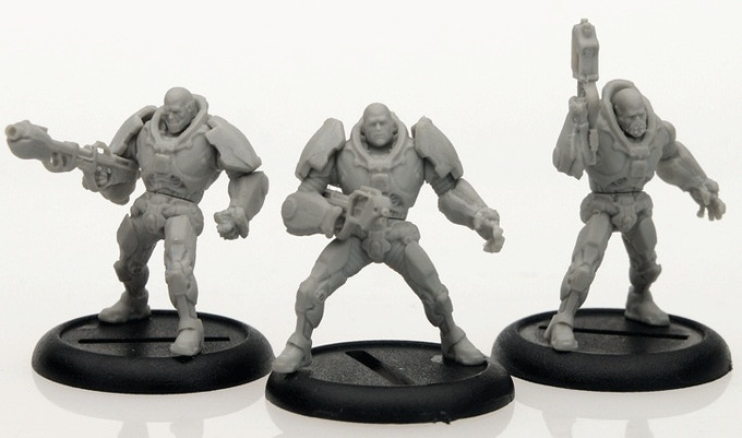 First Casts of the Armoured Chasseurs