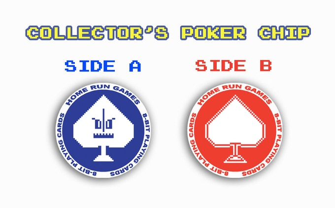 ADD $3 FOR A COLLECTOR'S POKER CHIP