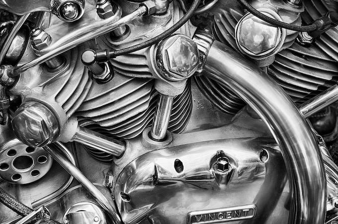 Falcon Motorcycle by Harold Davis