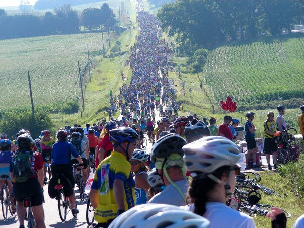 The World's Biggest Bike Ride finally gets a book!