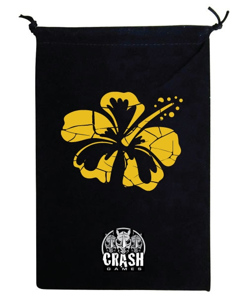 How about an awesome bag that will hold all your cards and bits so you can take Paradise Fallen on the go!