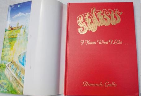 Hardbound Edition, signed by Armando Gallo.