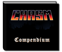 "10x8"" Hardback copy of Chasm Compendium"