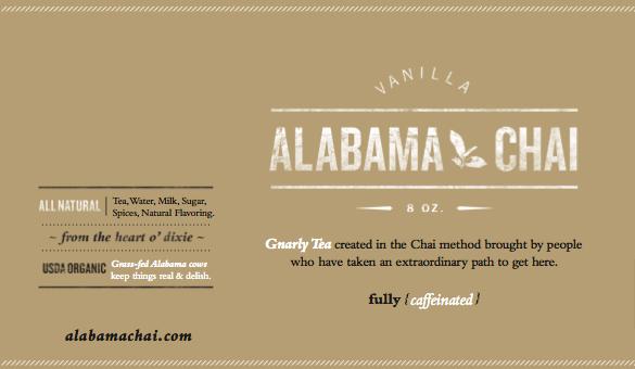 Our First Flavor - Vanilla Chai Latte