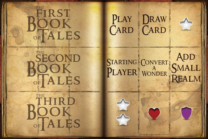 """The two game boards (""""Story Boards"""")"""