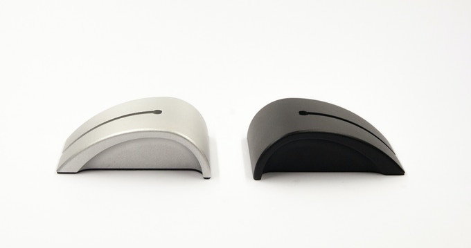 Two colors: Aluminium Grey & Matte Black