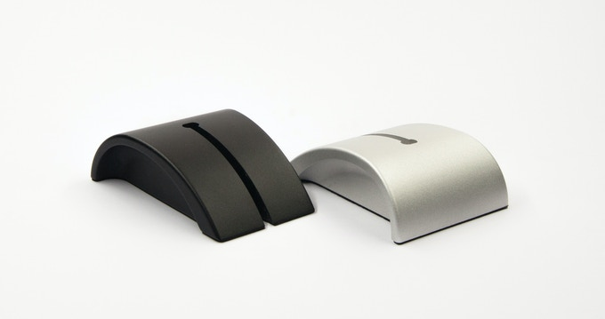 Two colors: Aluminium Grey and Matte Black