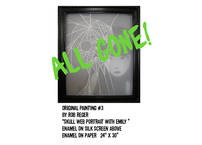 """""""UNAVAILABLE. IT'S NOW BACKER OWNED!! Enjoy the Web-art!! Thanks for the support! """""""