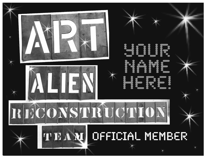 Special Official ART Membership Certificate sent to all donors $20+.