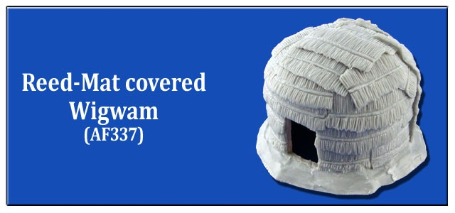 Reed-Mat Covered Wigwam