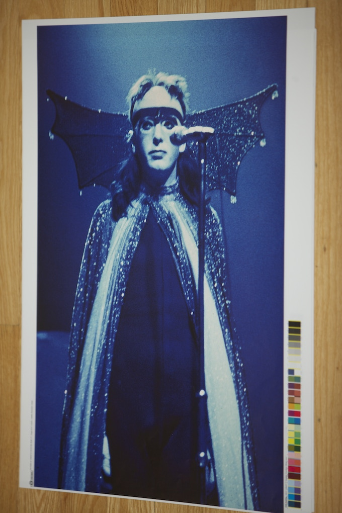 """Size: 20"""" x 26"""" - The Watcher Of the Sky. London 1974."""