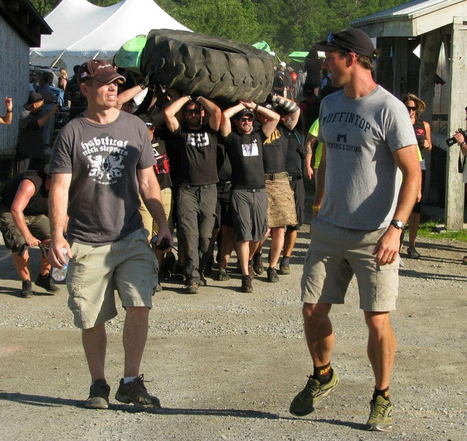 Co-Founders of the Death Race, Joe and Andy