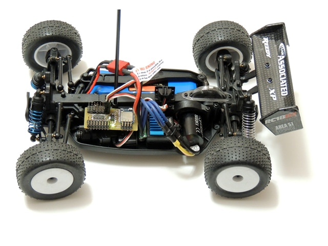 Off the shelf RC-Car with BlueRx