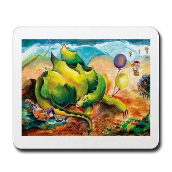 This is the Dragon mouse pad that is one of the rewards. Enjoy!