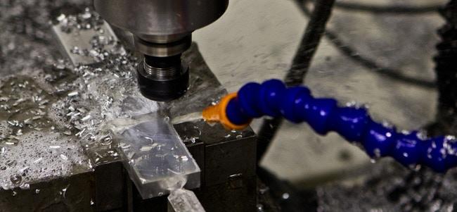 Machining aluminum on the CNC Mill