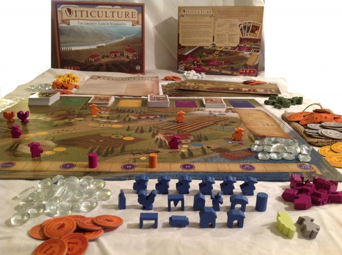 Viticulture: The Strategic Game of Winemaking