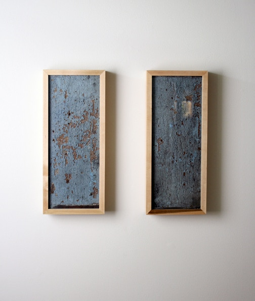 $100 Leaded Diptych