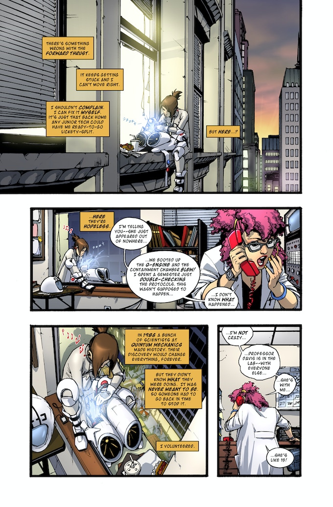 Rocket Girl page 1