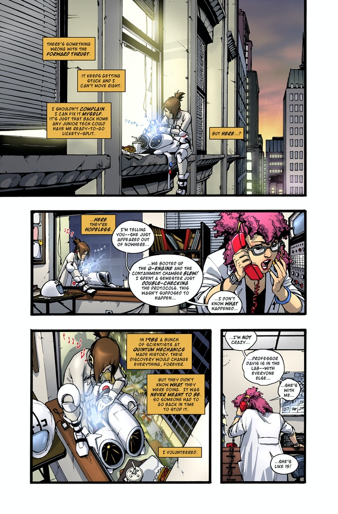 Rocket Girl page 1