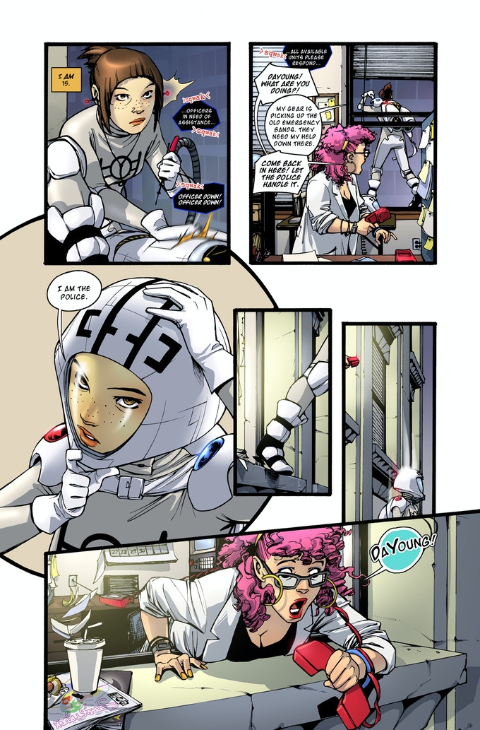 Rocket Girl page 2