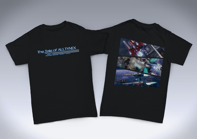 「The Tale of ALLTYNEX」 Kickstarter限定Tシャツ