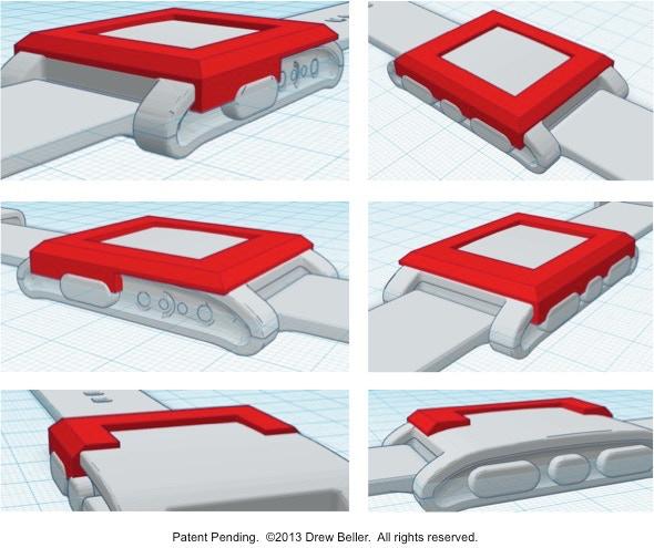 CAD Renderings of Bevel Prototype (with cutaway view)