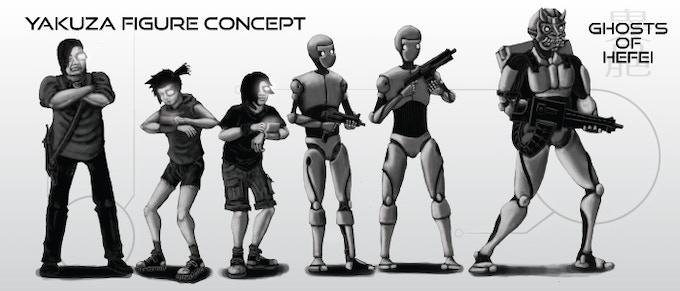 Yakuza concept art