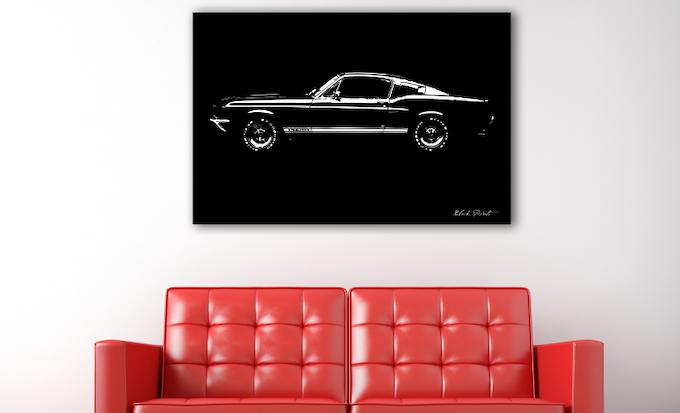 '67 Mustang GT500
