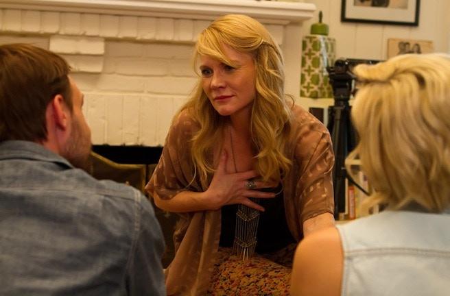 Tara Buck as HILDA with Gary Cairns and Brianne Davis