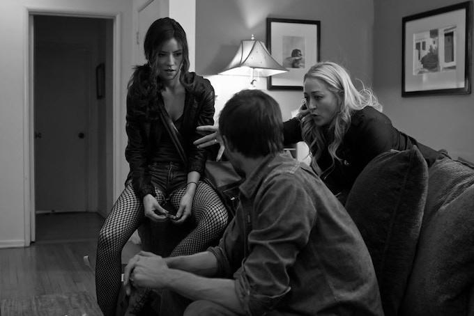 Vedett Lim, Gary Cairns and director Jennifer Blanc-Biehn