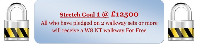 * * * * * 1st & 2nd Floor pledges on this stretch goal will receive 2 free walkways * * * * *