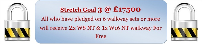 * * * * * 1st & 2nd Floor pledges on this stretch goal will receive 6 free walkways * * * * *