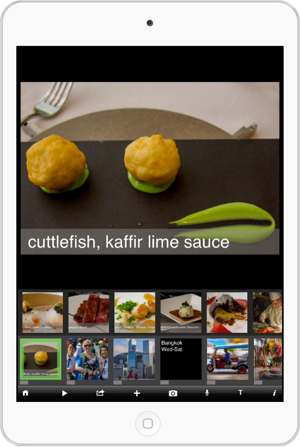Most people just want to see your best vacation shots - but for the crazy foodies who want to see every dish at the meal, we've got you covered, too - dig in and explore all the deeper content!