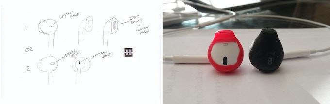 ES2 - Sketches / ES2 Concept, and ES2 Phase 1 Rapid Prototype