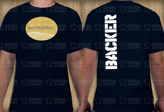OFFICIAL BACKER T-SHIRT (NAVY)