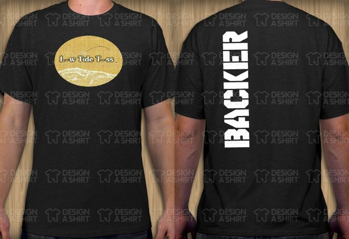 OFFICIAL BACKER T-SHIRT (BLACK)