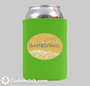 LOW TIDE TOSS KOOZIE