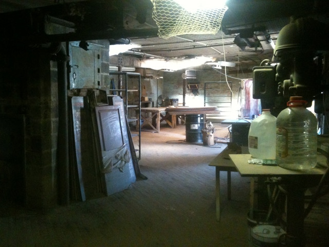 Here's the loft as we first saw it back in October 2011.