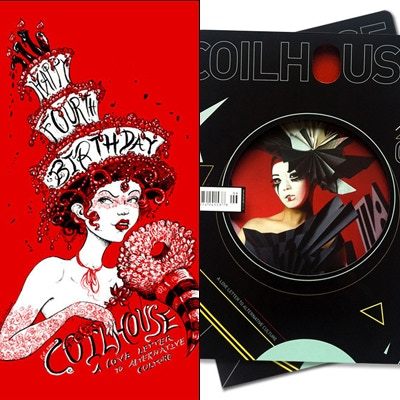$80 Coilhouse Magazine issue 06 and the commemorative Birthday serigraph by Molly Crabapple.