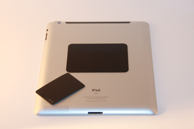 Two SETA Pads: One for your tablet and one for mounting on non-compatible surfaces $15