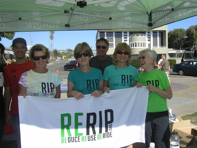 The San Diego stop of STAY VOCAL's Reuse & Schmooze Tour