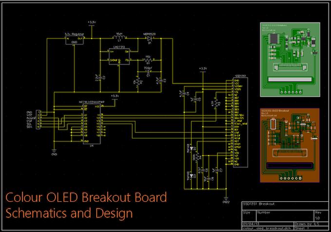 Colour OLED Breakout Board by ILSoft Ltd — Kickstarter