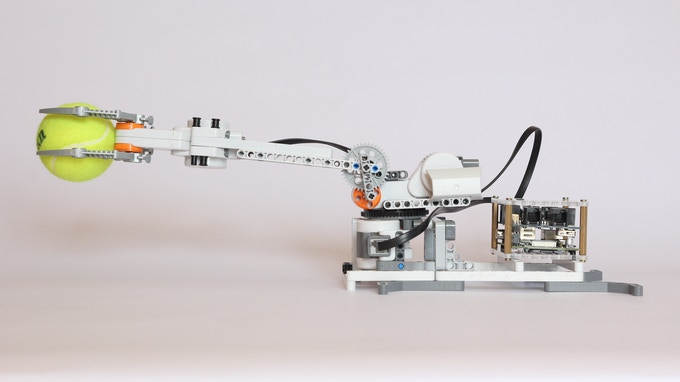 BrickPi as a Robot Arm