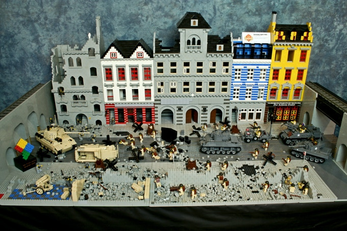 Germany 1945 Diorama (click for bigger image)