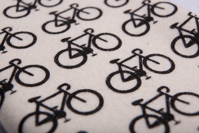 Modern and Elegant Cover Patterns. Bike Pattern