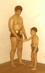 Father and Son (George and Carlos Espada)